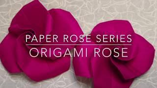 Origami Rose (Level 3: Moderate)