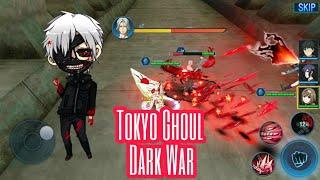 Game RPG Anime Terkenal - Tokyo Ghoul Dark War Gameplay Indonesia