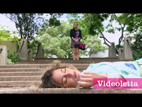 Violetta 3 English: Priscilla pushed Vilu down the stairs Ep.66