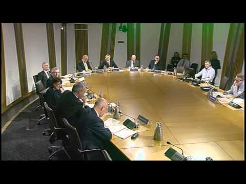 Infrastructure and Capital Investment Committee - Scottish Parliament: 17th June 2015