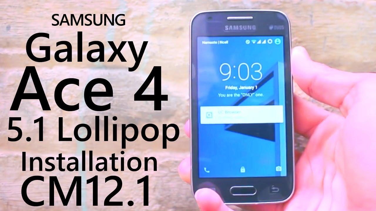 Lollipop For Galaxy Ace 4 SM-G313HU/HN/M/ and Galaxy V SM-G313HZ/ML