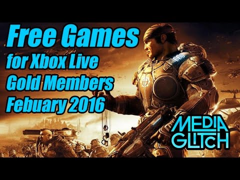 Free Games For Xbox Live Gold Members For February 2016