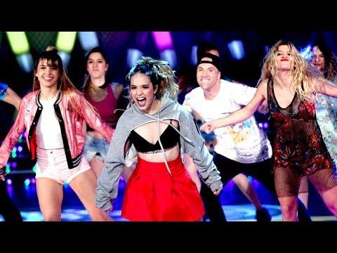 ¡Un espectacular musical de Simona abrió la ronda de Pop Latino de Bailando 2017!