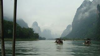 El majestuoso Rio Li! Yangshuo, China