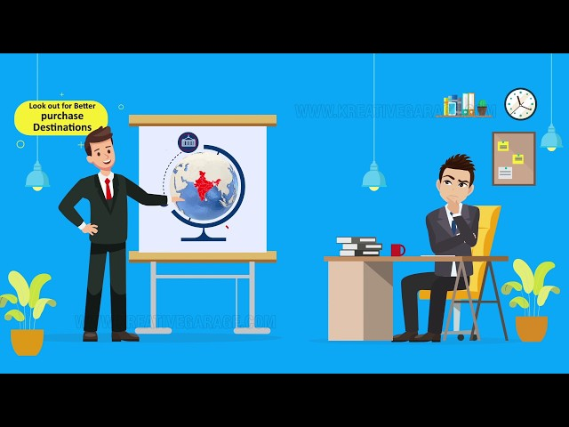 Explainer video for Sourceez international | Kreative Garage Studios | Mumbai, India