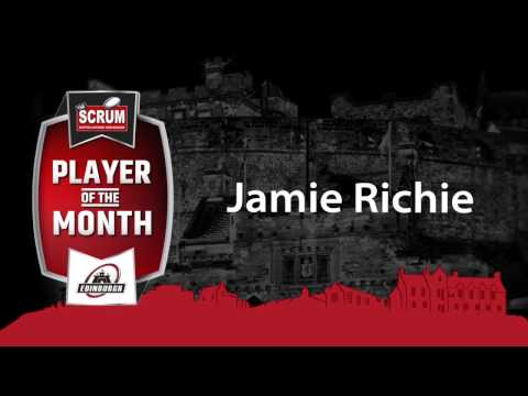 SCRUM Player of the Month for February | Jamie Richie