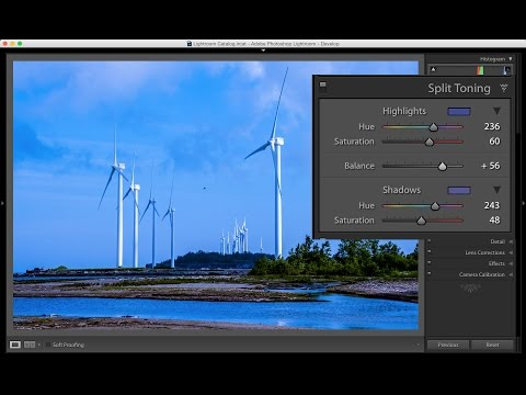 Learn Lightroom 6 / CC - Episode 7: Split Toning