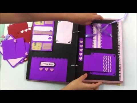 Scrapbook Diy Handmade By Hanla Youtube