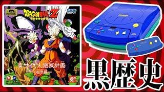 黒歴史ゲーム機で発売された『ドラゴンボールのアニメゲーム』#1