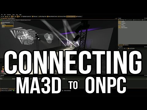 Connecting MA3D to MA2 onPC - (Where's the JOIN button?!)