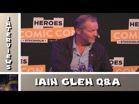 Comic Con Stockholm 2017 - Iain Glen Q&A