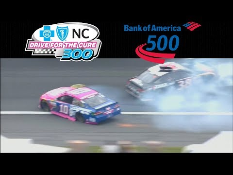 2017 NASCAR Highlights - Drive for the Cure 300 - BOA 500 - 10/7-8/2017