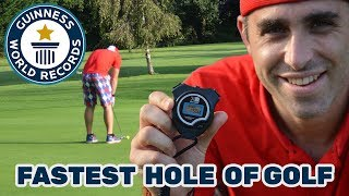 Fastest hole of golf (individual) - Guinness World Records