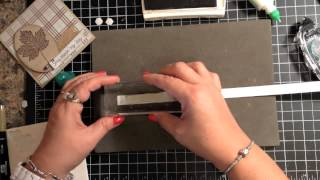 Stampin' Up! Video Tutorial Cardmaking 101 Mass Producing Tip