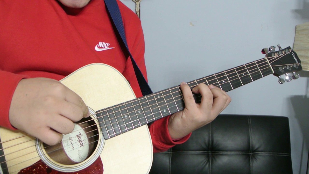 how to play a b flat minor guitar chord tutorial youtube. Black Bedroom Furniture Sets. Home Design Ideas