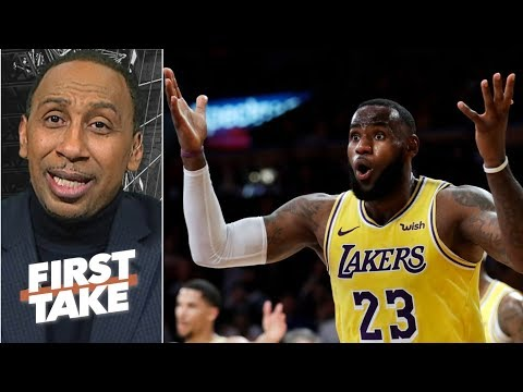 Lakers vs. Rockets isn't proof LeBron can carry LA to the playoffs – Stephen A. | First Take