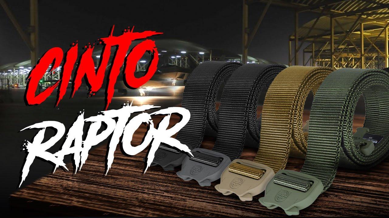 Cinto Raptor 40mm - Verde - Loja Oficial da Marca Bélica Militar