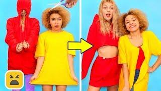 Back to School Fashion Hacks! School Girl DIY Clothes