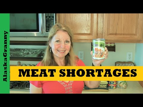 Meat Shortages Drought Inflation Rising Prices Buy Stockpile Meat Now
