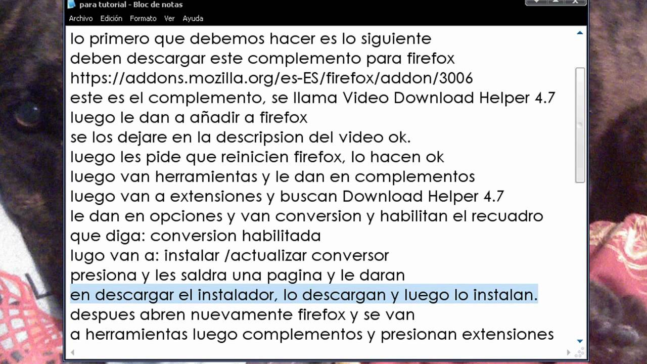 Tutorial O Bajar Videos De Youtube Con Mozilla Firefox
