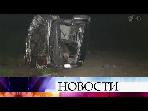 В Орловской области в крупной аварии пострадали граждане Украины.