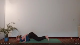 Sun Salutation A with Knees Chest Chin and Cobra