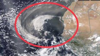 Global Weather//Massive Sahara Dust Storm/Hurricane Chris Tracks to Canada 7/12/2018