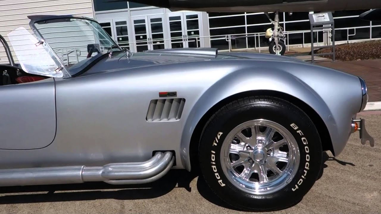 Fun day with 1965 Shelby AC Cobra Backdraft Racing Tribute - YouTube