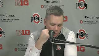 Chris Holtmann After Ohio State's Loss To Michigan Basketball