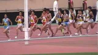 大迫君早大快走! 20120520 関東インカレ男子1部5000m決勝 thumbnail