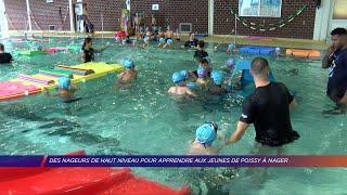 Yvelines | Des nageurs de haut niveau présents pour apprendre aux jeunes de Poissy à nager
