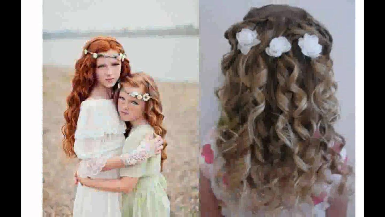 Прически на свадьбу для маленьких девочек