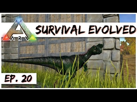 Ark Survival Evolved - Ep. 20 - Egg Farm Boosting Oviraptor! - Gameplay - Let's Play