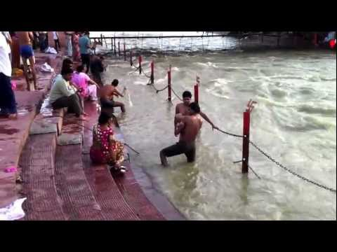 The Ganges River - Haridwar, India