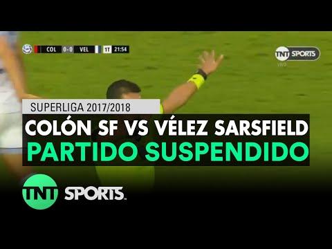 Suspendido el duelo entre Colón y Vélez Sarsfield