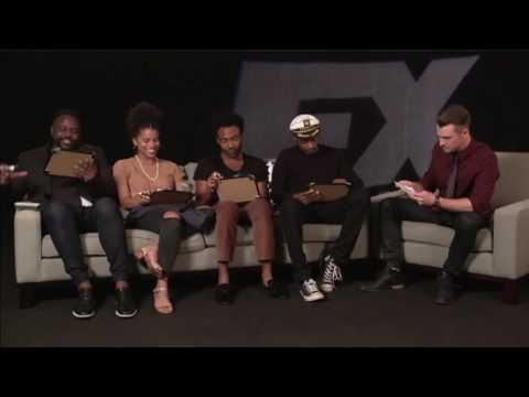 Donald Glover and the Atlanta cast TCA  2016