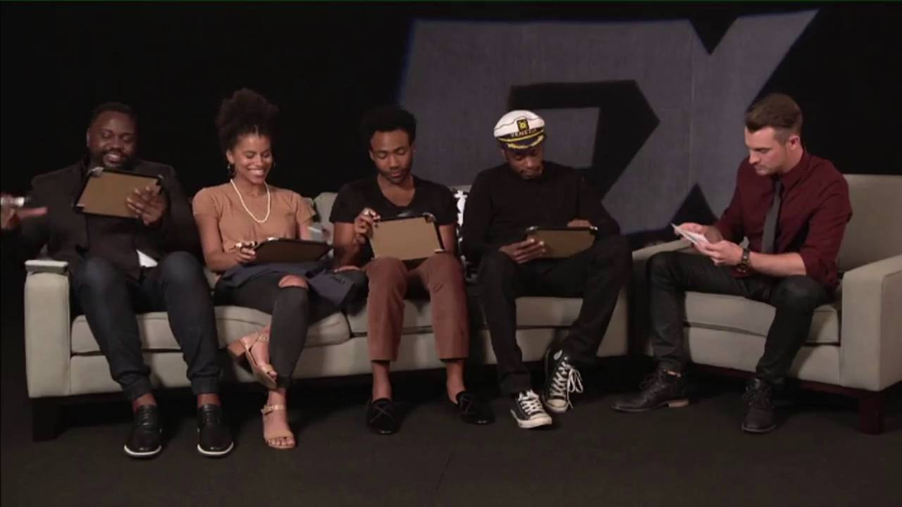 donald glover and the atlanta cast tca interview 2016 youtube