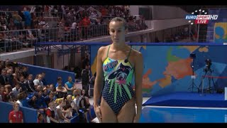 Tania Cagnotto Bronze Medal women's 3m diving World Championships 2015 Kazan Russia