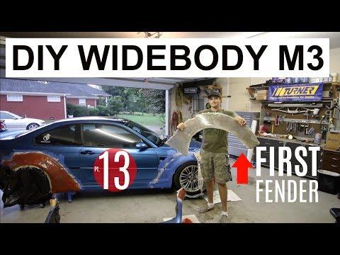 DIY Widebody M3 Pt 13 First Fender!