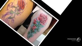 Розы татуировки эскизы
