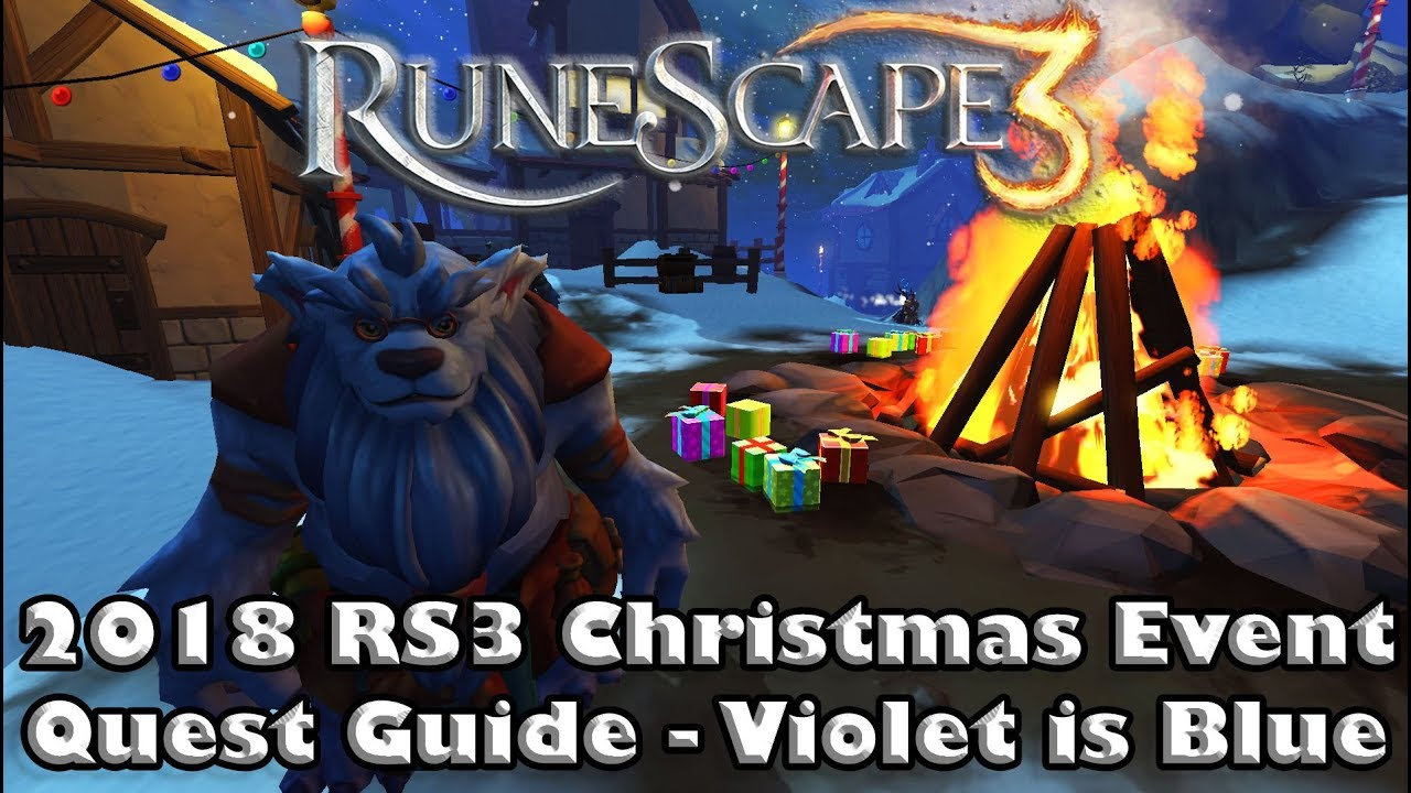 Christmas 2020 Event Rs3 RS3 2019 Quest Guide   Violet is Blue   How to Complete the Ice