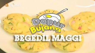 #DapurBujang Maggi - Begedil Maggi.