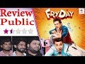 FryDay Movie Review | FryDay Public Review & Reaction | Govinda & Varun Sharma