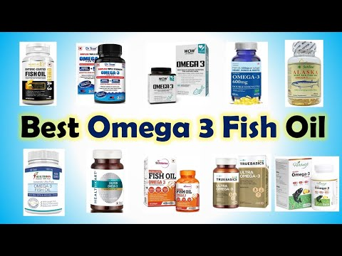 Best Omega 3 Fish Oil In India With Price 2019 | Top 10 Fish Oil Supplements