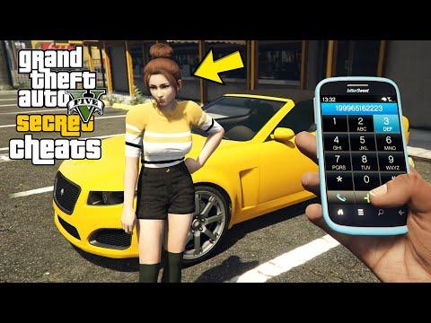 GTA 5 - Secret Phone Cheats! (PC, PS4, Xbox One, PS3 & Xbox 360)