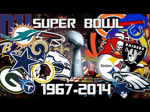 NFL All Super Bowl Winners 1967-2014