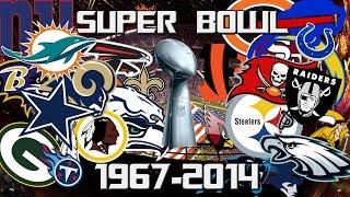 NFL All Super Bowl Winners 1967-2014