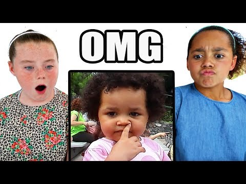 Tiana Reacts To Her Toddler Videos