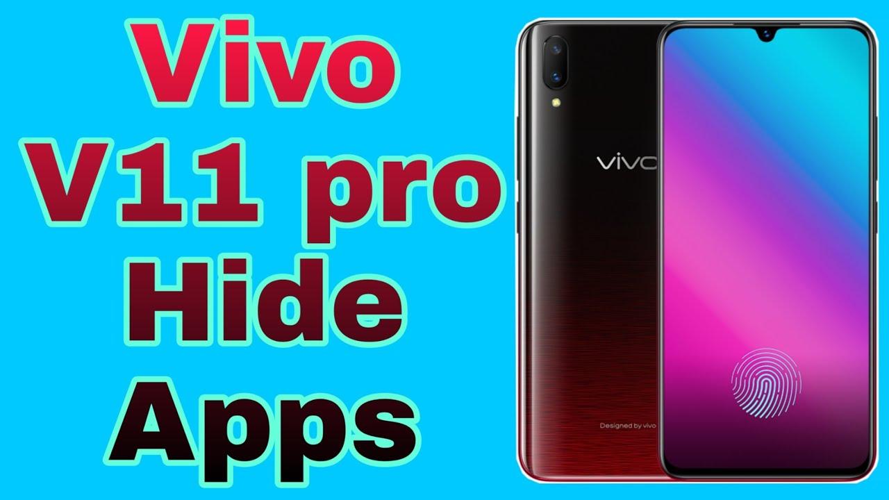 vivo v11 pro hide apps setting || hide apps in vivo v11 pro #tachnicalsk