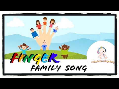 Finger Family 2018  (Song with Lyrics) - Sing Along Nursery Rhymes for Children, Kids & Toddlers